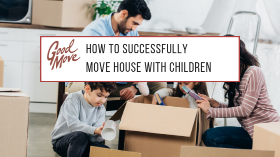 How To Successfully Move House With Children (Including Infographic)