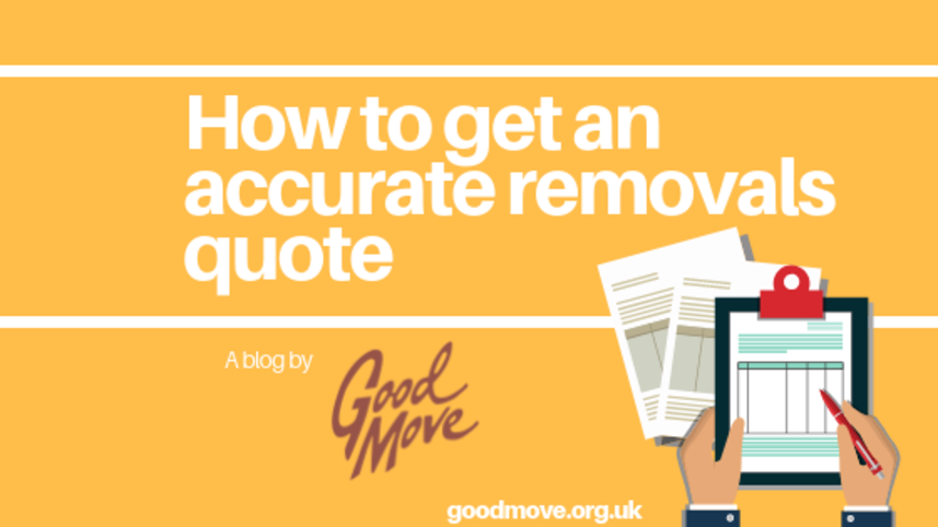How To Get An Accurate Removals Quote