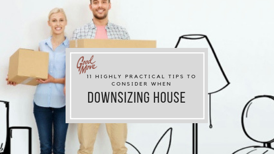 11 Highly Practical Tips To Consider When Downsizing Home (Includes Our Downloadable Downsizing & Moving Home Checklist)