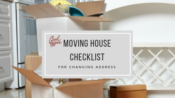 Moving House Checklist For Changing Address: Who To Tell When You Move House