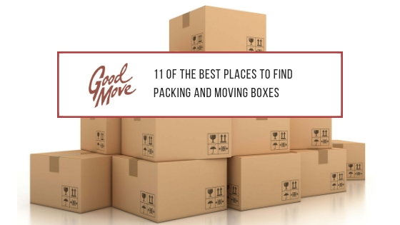 11 Of The Best Places To Find Packing And Moving Boxes