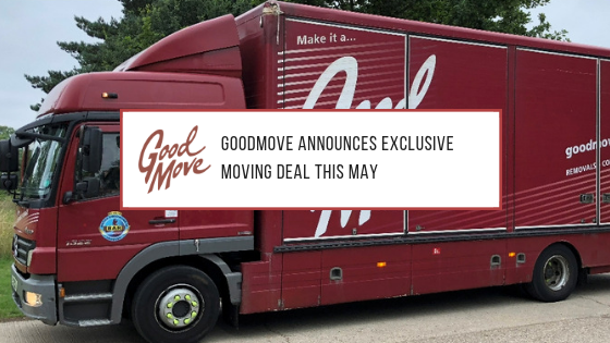 GoodMove Announces Exclusive Moving Deal This May