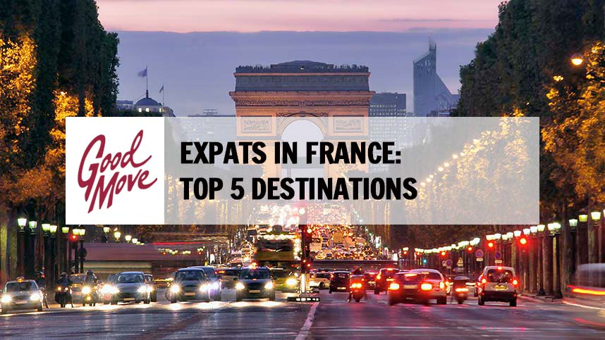 Expats in France: Top 5 Destinations