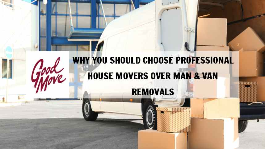 Why You Should Choose Professional House Movers over Man & Van Removals