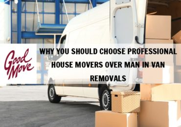 Why Should You Choose Professional House Movers over Man in Van Removals
