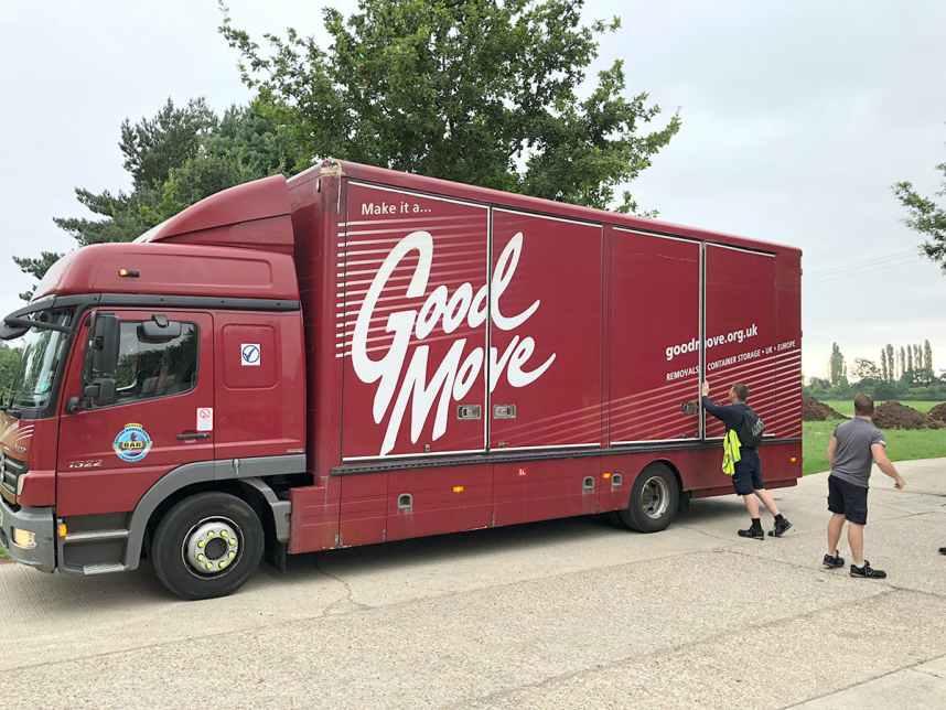 Goodmove truck