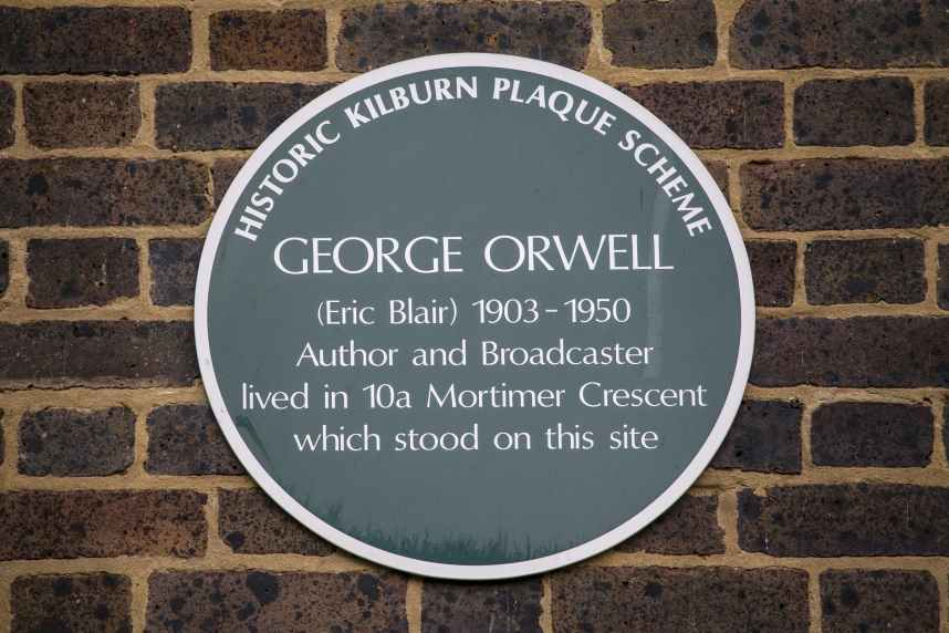 George Orwell Plaque