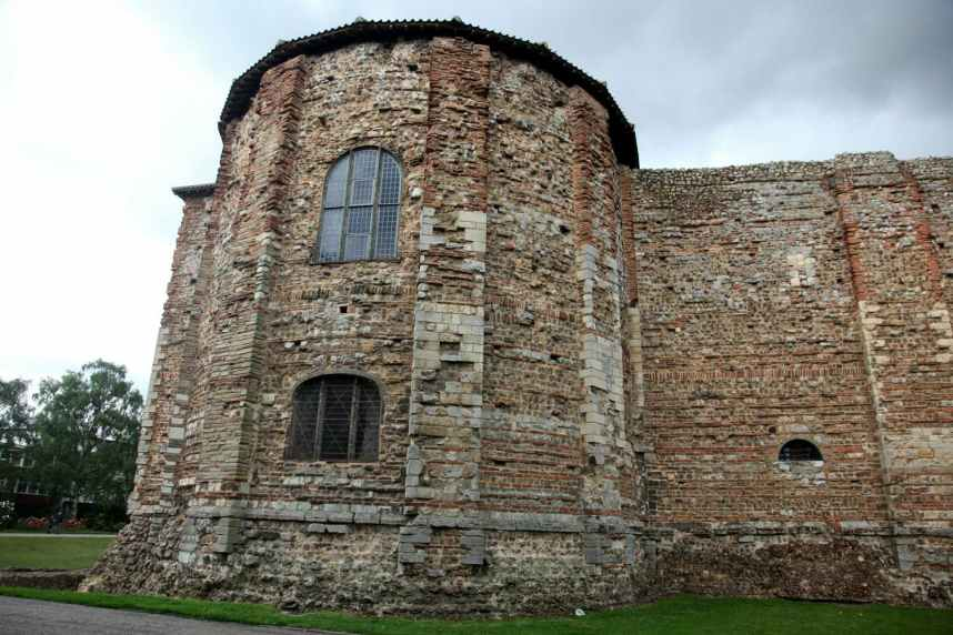 Castle in Colchester 11th century Norman