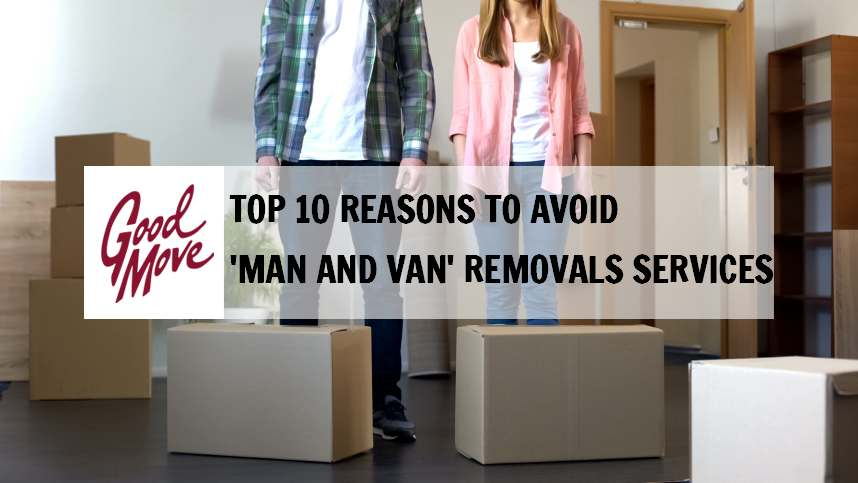 Top 10 Reasons to Avoid 'Man and Van' Removals Services