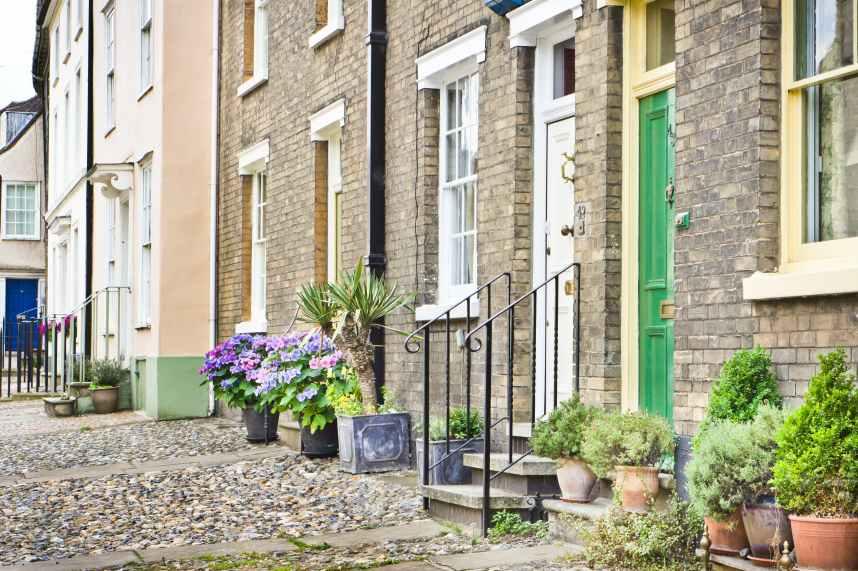 Bury St EdmundsTown houses