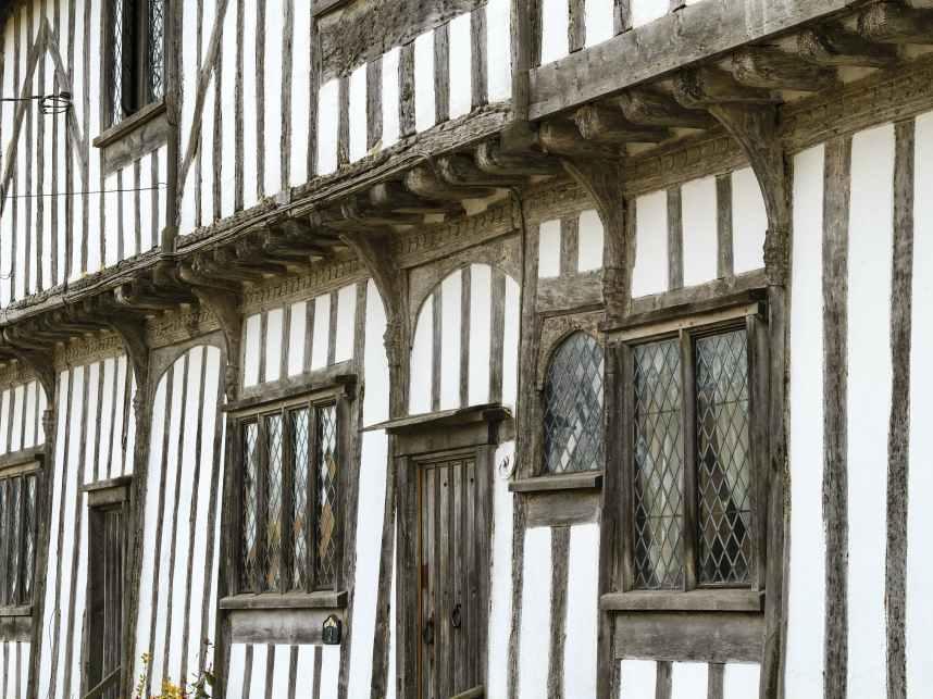 Tudor style house suffolk