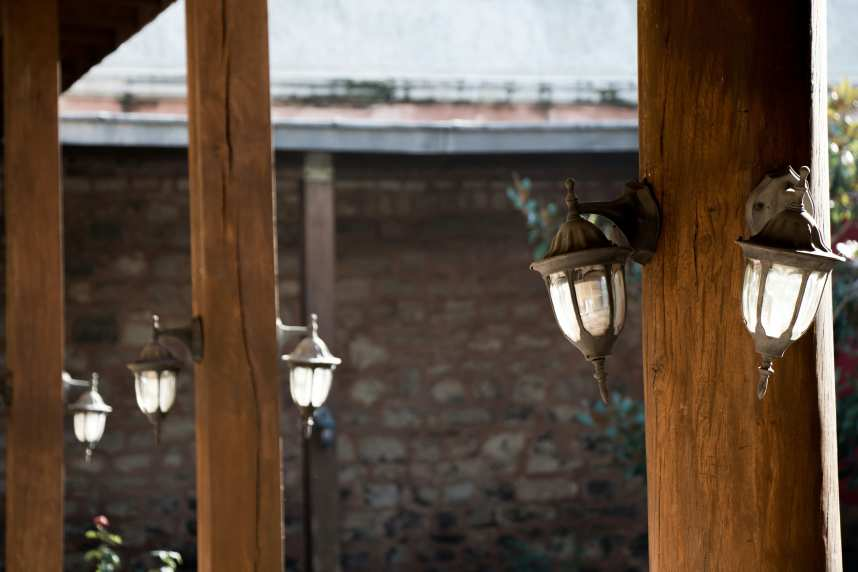 Retro Exterior Lights